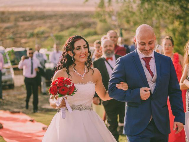 La boda de Jared y Sonia en Ojos De Garza, Las Palmas 1