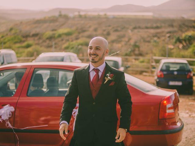 La boda de Jared y Sonia en Ojos De Garza, Las Palmas 15