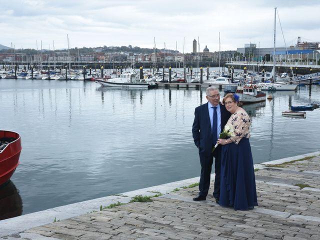 La boda de Jose Ramon y Mari Cruz en Santurtzi, Vizcaya 19