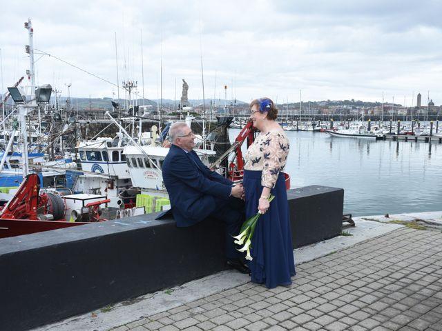 La boda de Jose Ramon y Mari Cruz en Santurtzi, Vizcaya 23