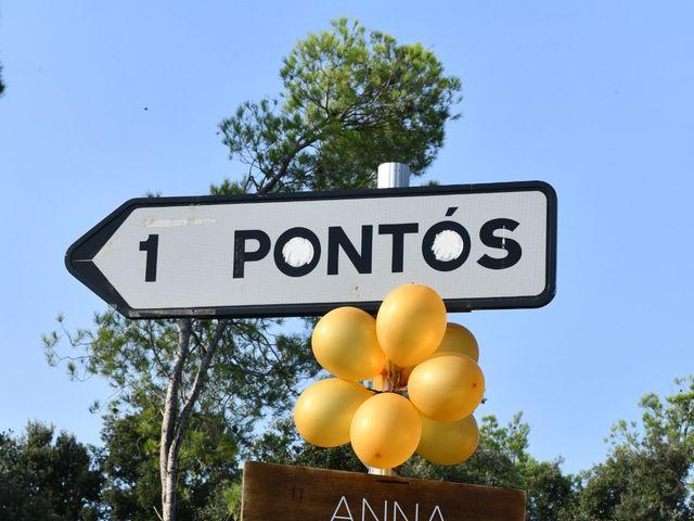 La boda de Anna y Oscar en Pontos, Girona 16