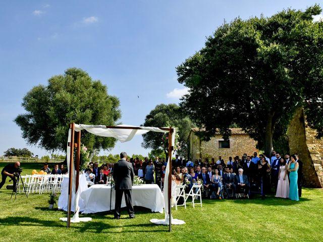 La boda de Anna y Oscar en Pontos, Girona 51