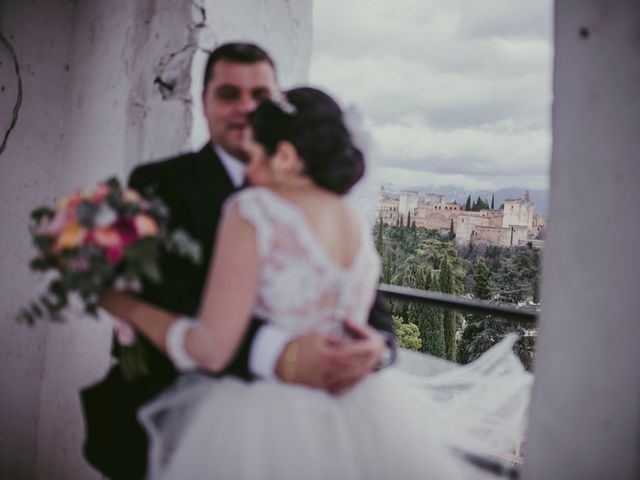 La boda de Ricardo y Paula en Granada, Granada 62