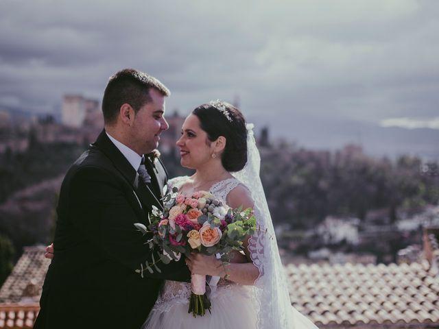 La boda de Ricardo y Paula en Granada, Granada 66