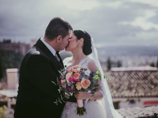 La boda de Ricardo y Paula en Granada, Granada 67