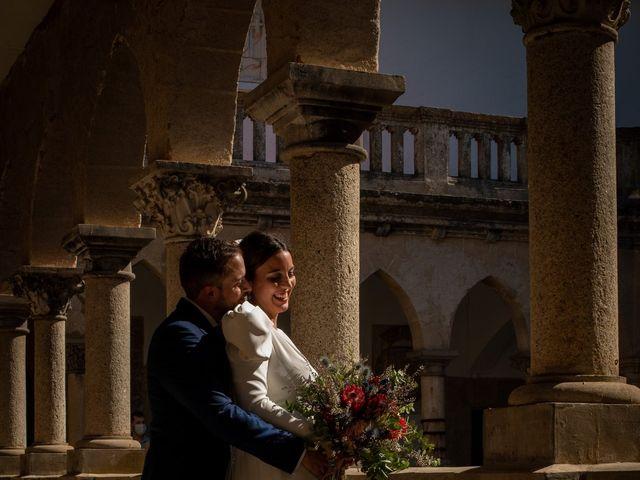 La boda de Sergio y Laura en Alburquerque, Badajoz 13