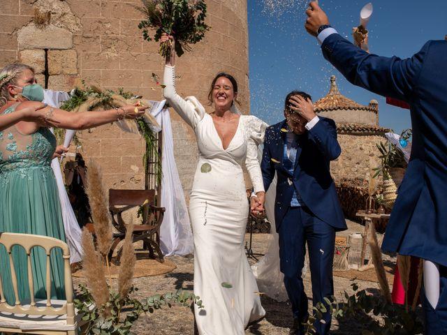 La boda de Sergio y Laura en Alburquerque, Badajoz 28