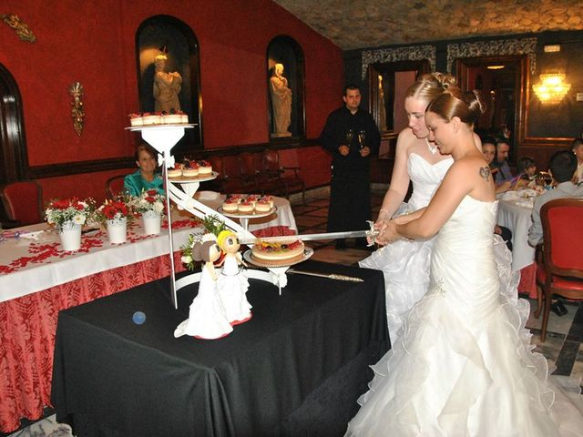 La boda de Jèssica  y Rocio  en Santa Cristina, Girona 4