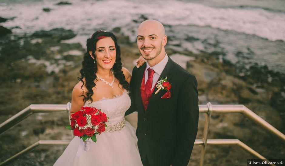 La boda de Jared y Sonia en Ojos De Garza, Las Palmas