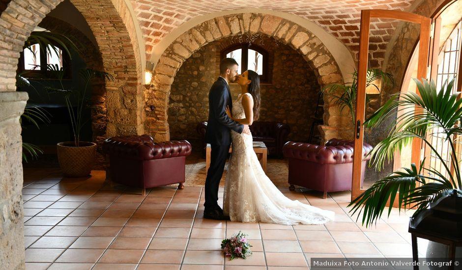 La boda de Anna y Oscar en Pontos, Girona