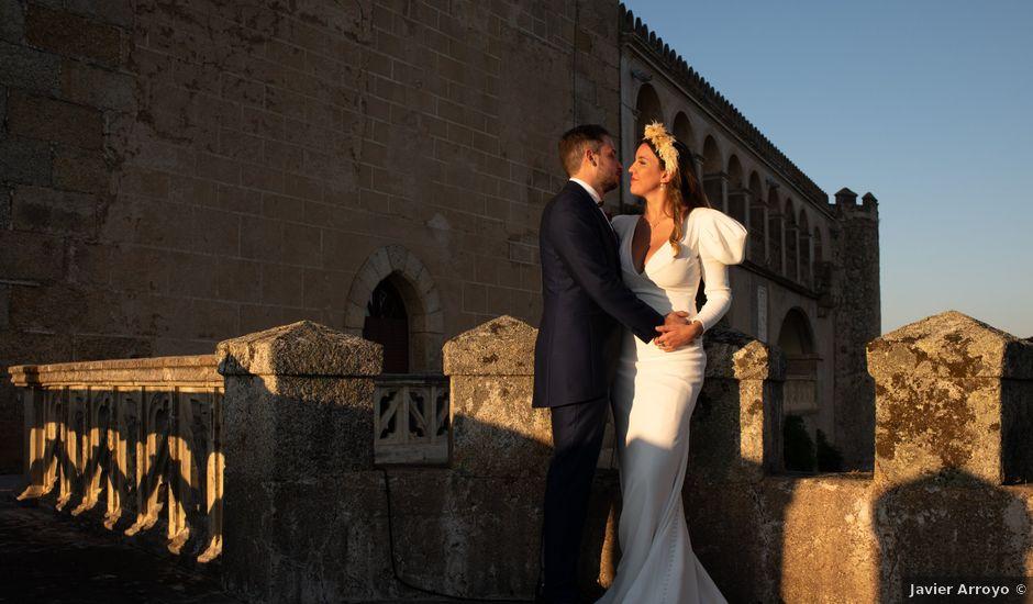 La boda de Sergio y Laura en Alburquerque, Badajoz