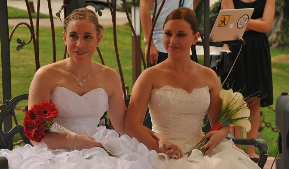 La boda de Jèssica  y Rocio  en Santa Cristina, Girona