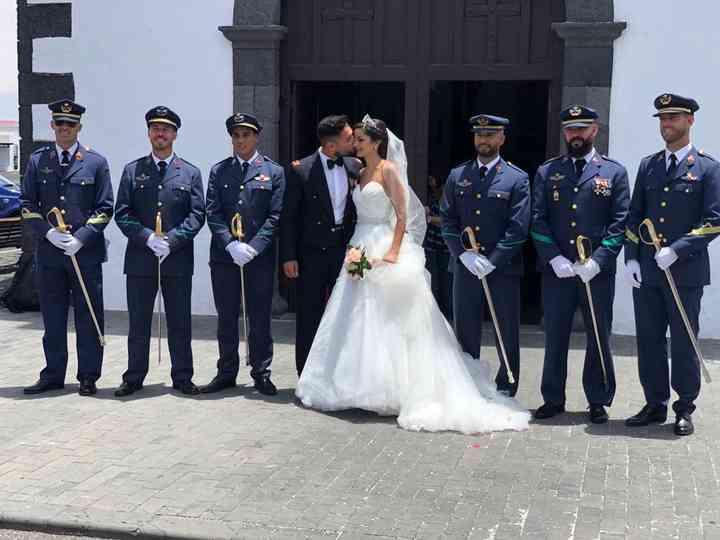 La boda de Omayra y Ayose