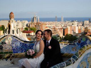 La boda de Joanna  y Franck  1
