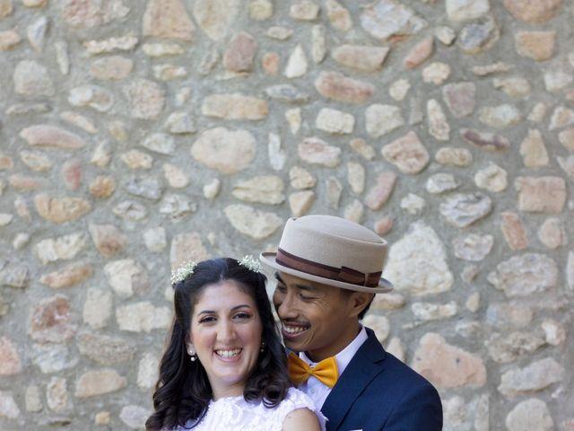 La boda de Bayu  y Clara  en Caldes De Montbui, Barcelona 3