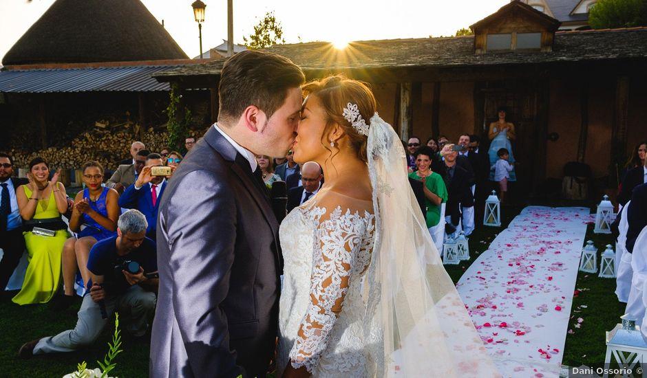 La boda de Carlos y Aura en Ponferrada, León