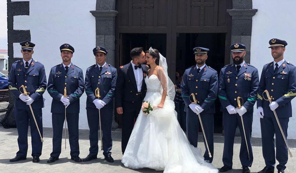 La boda de Ayose y Omayra en Mancha Blanca, Las Palmas