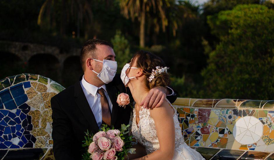 La boda de Franck  y Joanna  en Vilanova Del Valles, Barcelona