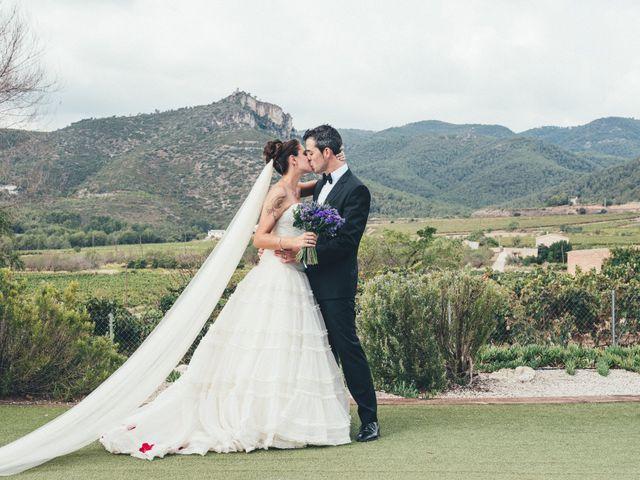 la boda de sergi y olimpia en vilafranca del penedes, barcelona