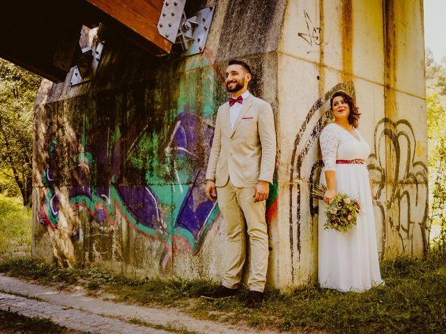 La boda de Adrián y Alexandra en O Carballiño, Orense 25