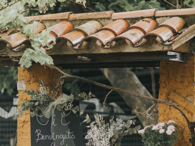La boda de Cesar y Cris en Canoves, Barcelona 4