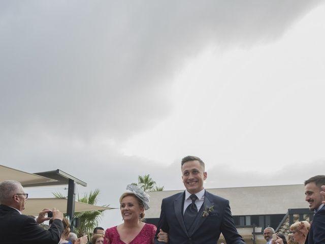 La boda de Daniel y Ana en Huetor Tajar, Granada 38
