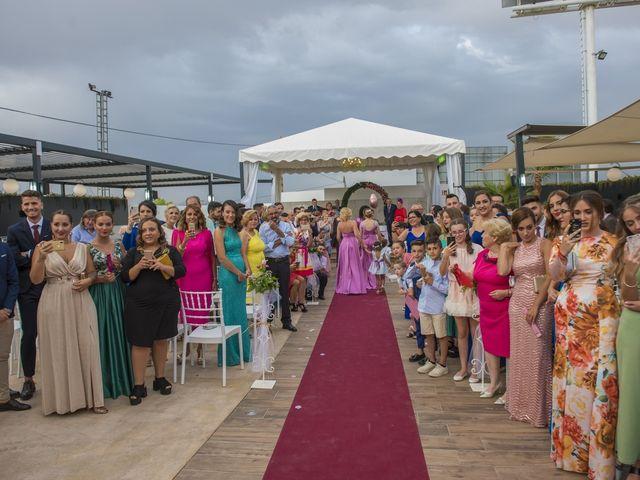 La boda de Daniel y Ana en Huetor Tajar, Granada 41