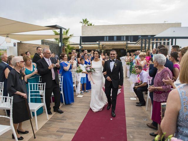 La boda de Daniel y Ana en Huetor Tajar, Granada 42