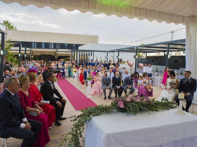 La boda de Daniel y Ana en Huetor Tajar, Granada 43