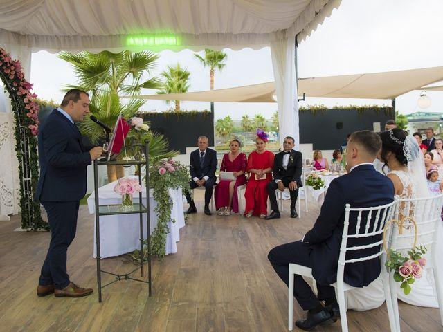 La boda de Daniel y Ana en Huetor Tajar, Granada 45