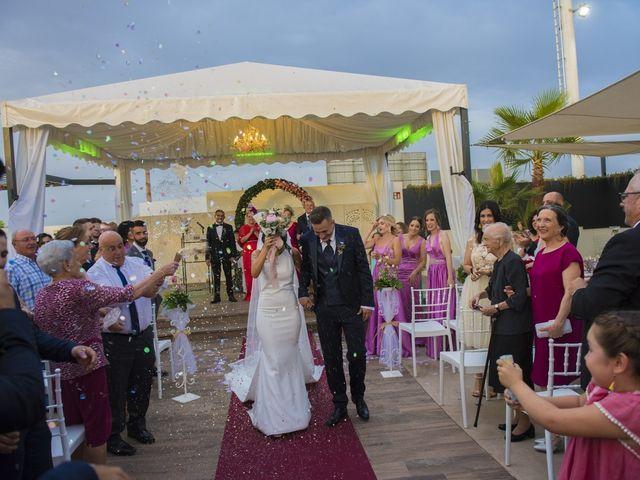 La boda de Daniel y Ana en Huetor Tajar, Granada 50