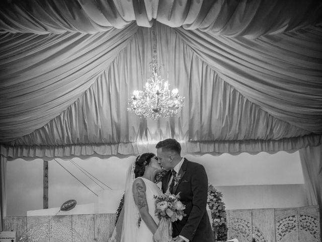 La boda de Daniel y Ana en Huetor Tajar, Granada 53