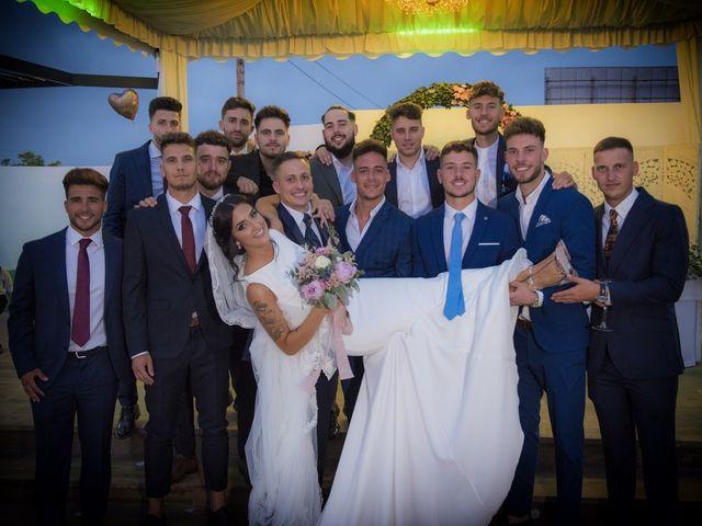 La boda de Daniel y Ana en Huetor Tajar, Granada 55