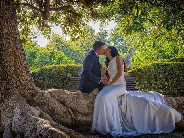 La boda de Daniel y Ana en Huetor Tajar, Granada 64