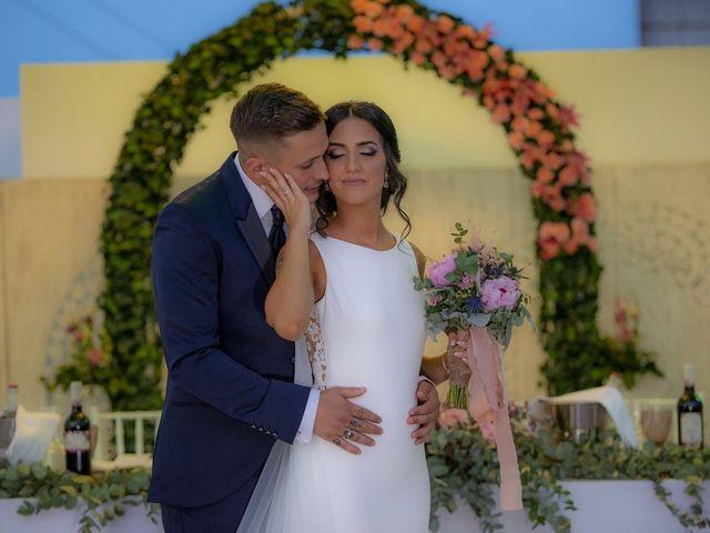 La boda de Daniel y Ana en Huetor Tajar, Granada 86
