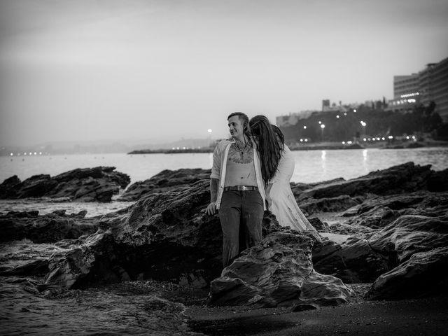 La boda de Daniel y Ana en Huetor Tajar, Granada 98