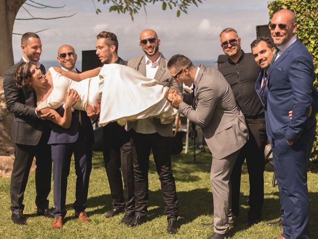 La boda de Fer y Argi en Valle Guerra, Santa Cruz de Tenerife 45