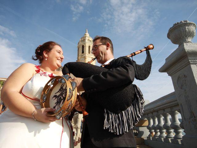 La boda de Juan Manuel  y Vanesa  en Sitges, Barcelona 1