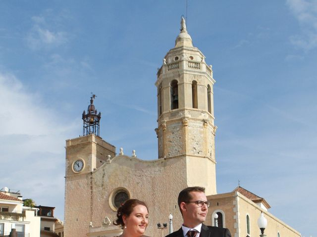 La boda de Juan Manuel  y Vanesa  en Sitges, Barcelona 2