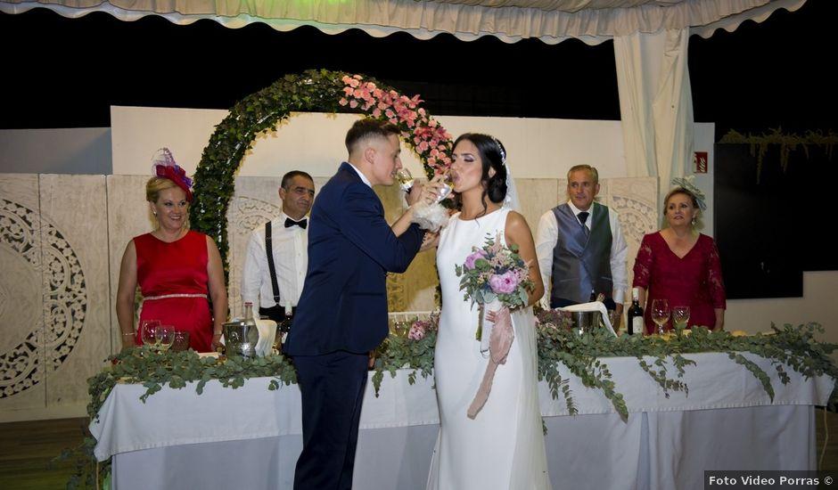La boda de Daniel y Ana en Huetor Tajar, Granada