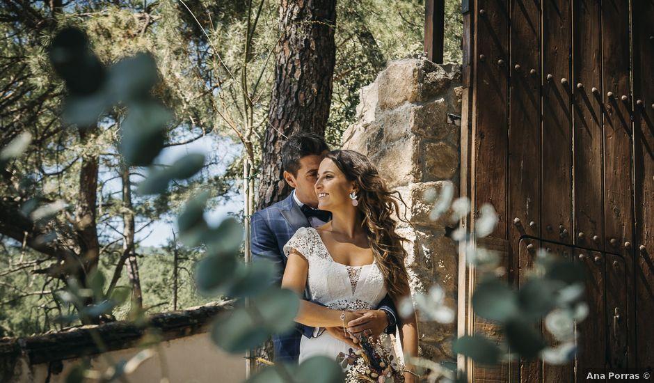 La boda de Carlos y Diana en La Adrada, Ávila