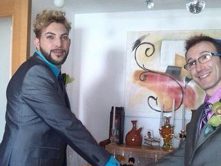 La boda de Agustín y Andrés