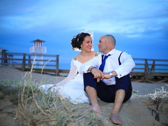 La boda de Javier y Cinta en Valverde Del Camino, Huelva 22