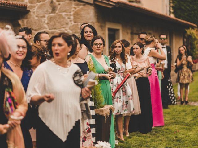 La boda de Óscar y Amina en Chantada (Casco Urbano), Lugo 52