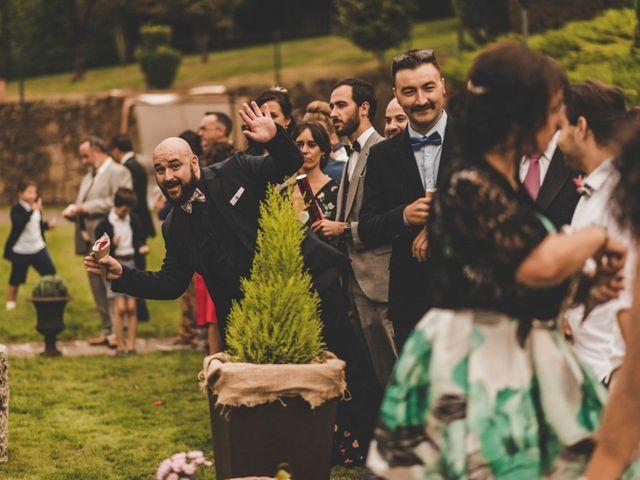 La boda de Óscar y Amina en Chantada (Casco Urbano), Lugo 53