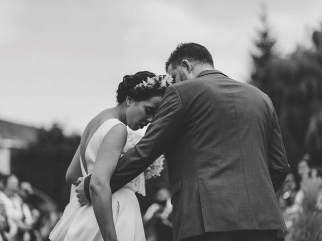 La boda de Óscar y Amina en Chantada (Casco Urbano), Lugo 54