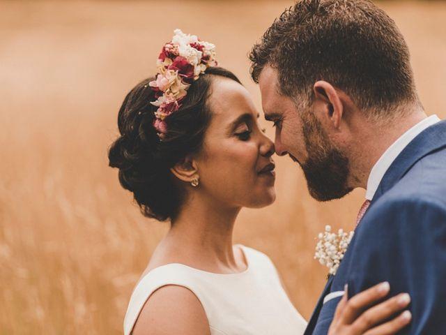 La boda de Amina y Óscar