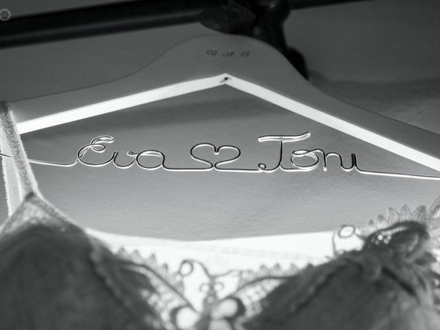 La boda de Toni y Eva en Leiro (Capital), Orense 1