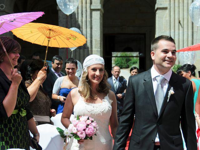 La boda de Toni y Eva en Leiro (Capital), Orense 12