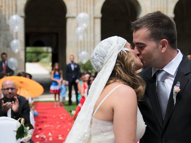 La boda de Toni y Eva en Leiro (Capital), Orense 17